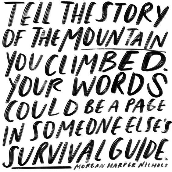 Morgan Harper Nichols Survivor Quote