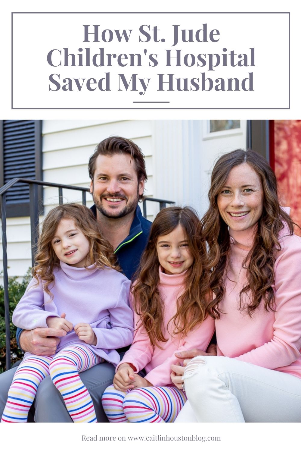 How St Jude Children's Hospital Saved My Husband's Life - Survivor Story for St. Jude patient Brandon Houston on Caitlin Houston Blog