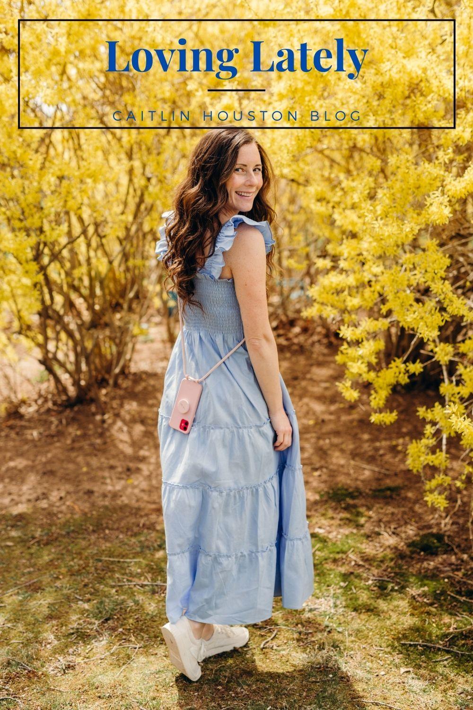 Hill House Dress Forsythia Bush Caitlin Houston
