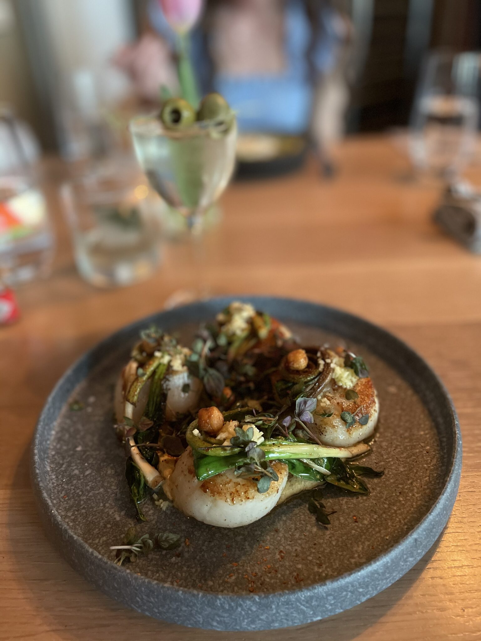 scallops at the shipwright's daughter