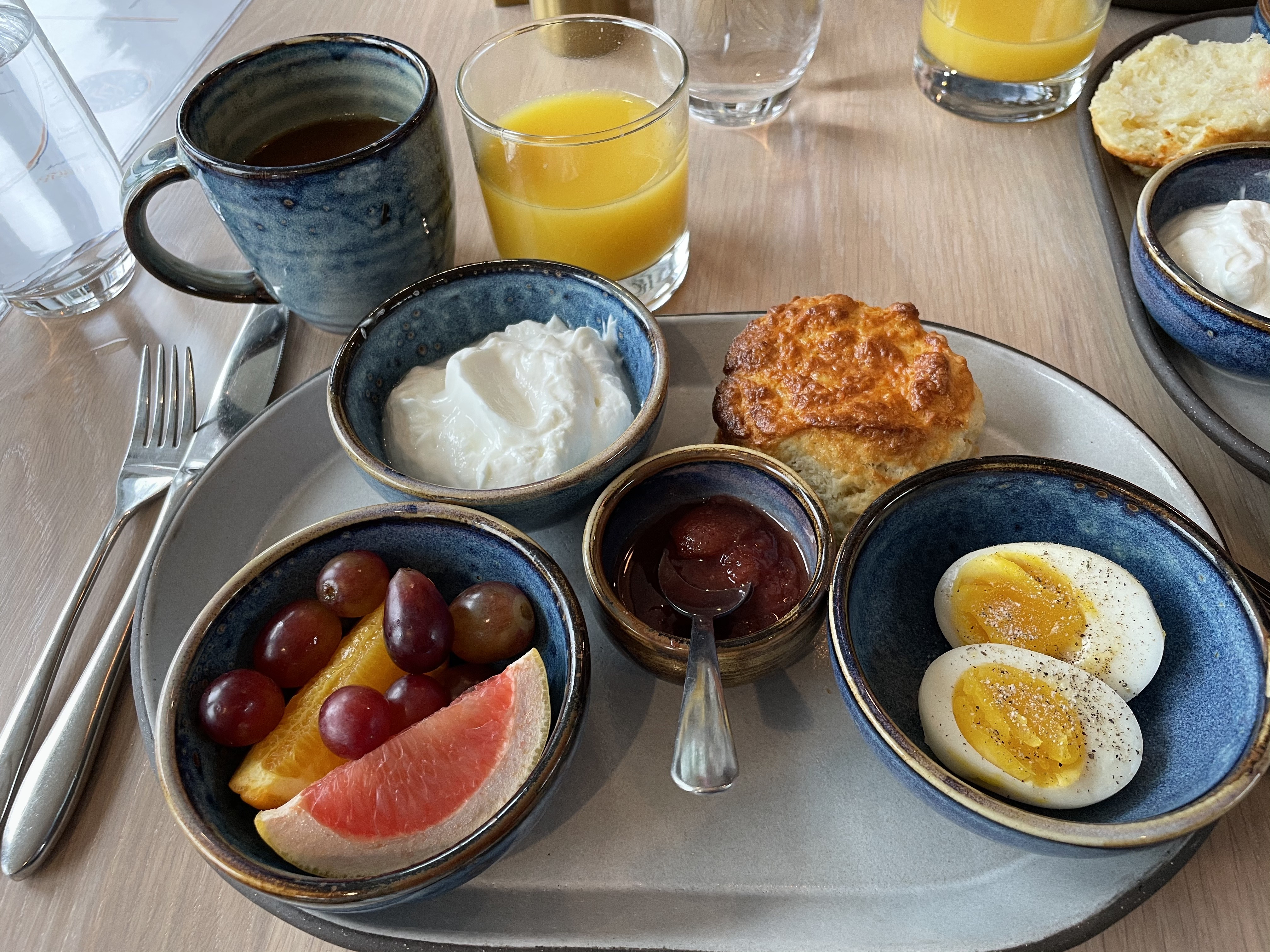 Complimentary continental breakfast at The Whaler's Inn