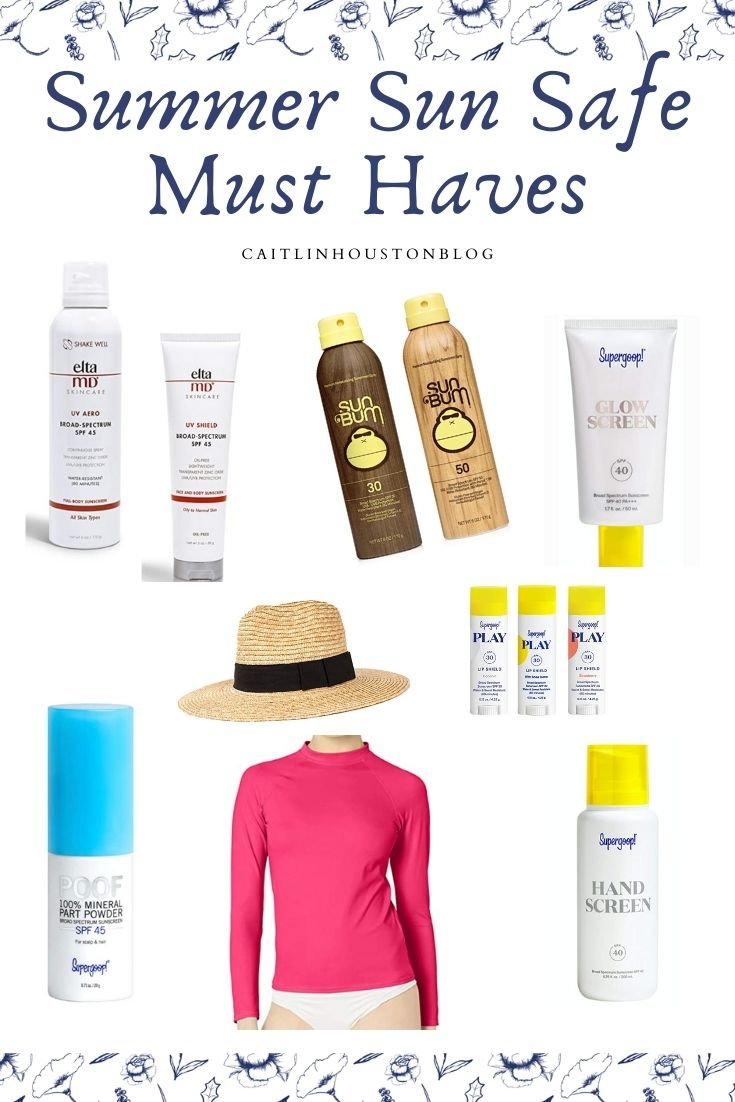 Sun Safety Must Haves
