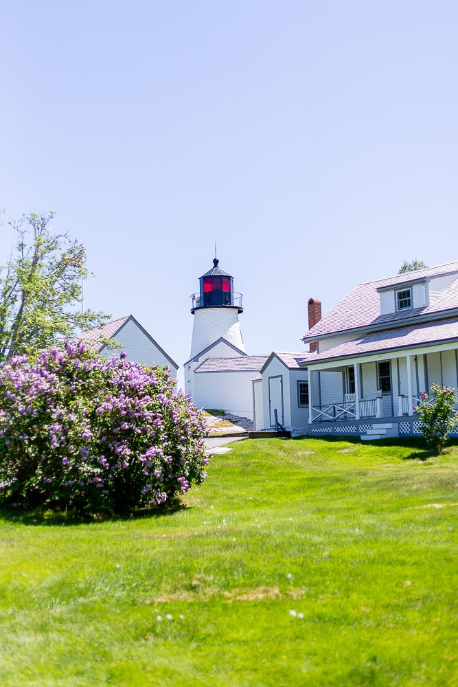 Burnt Island Living Lighthouse