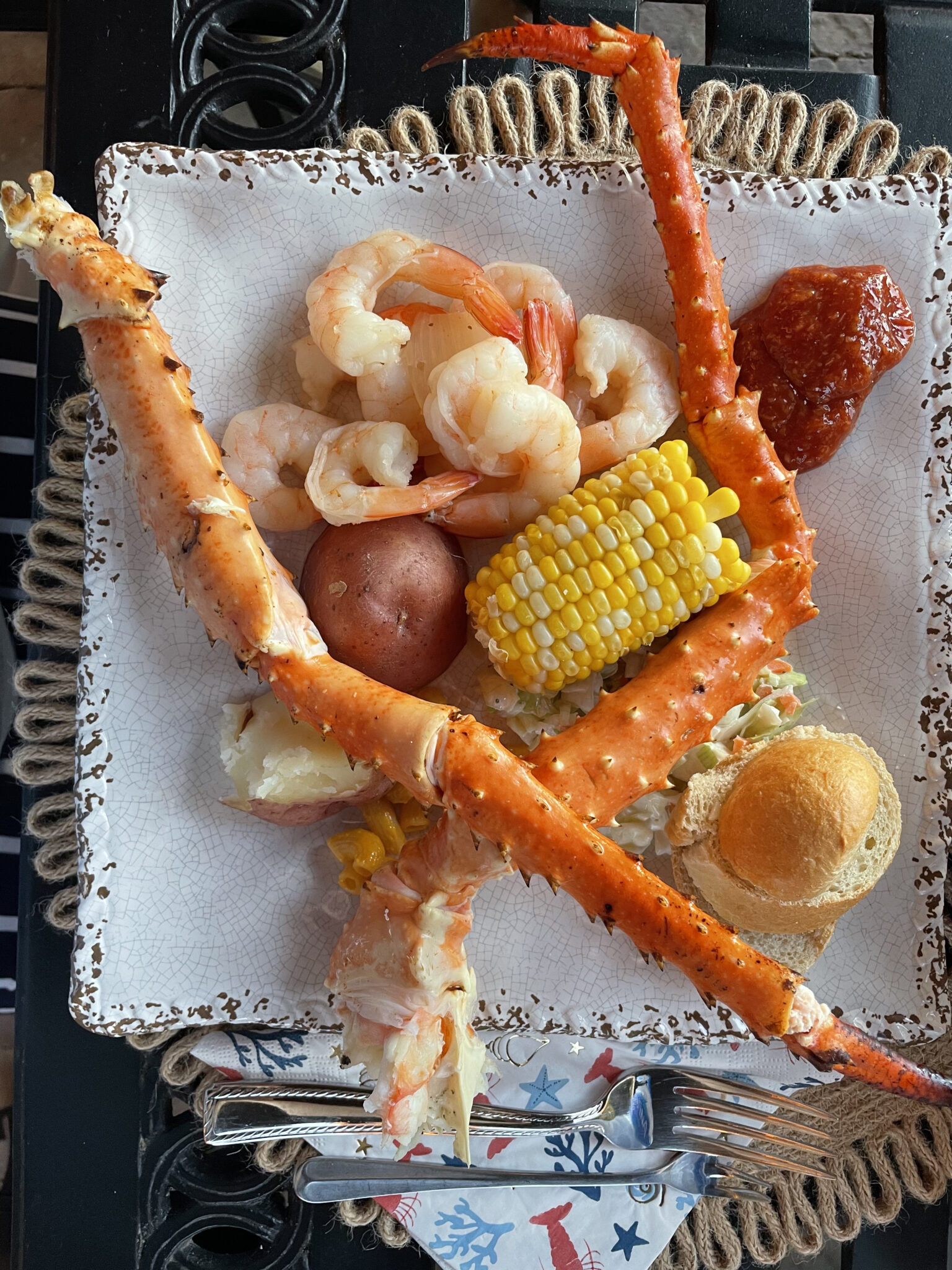 crab boil low country boil