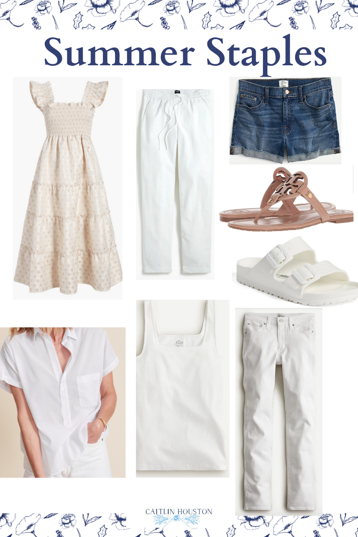 Summer Staples for your Wardrobe or Closet