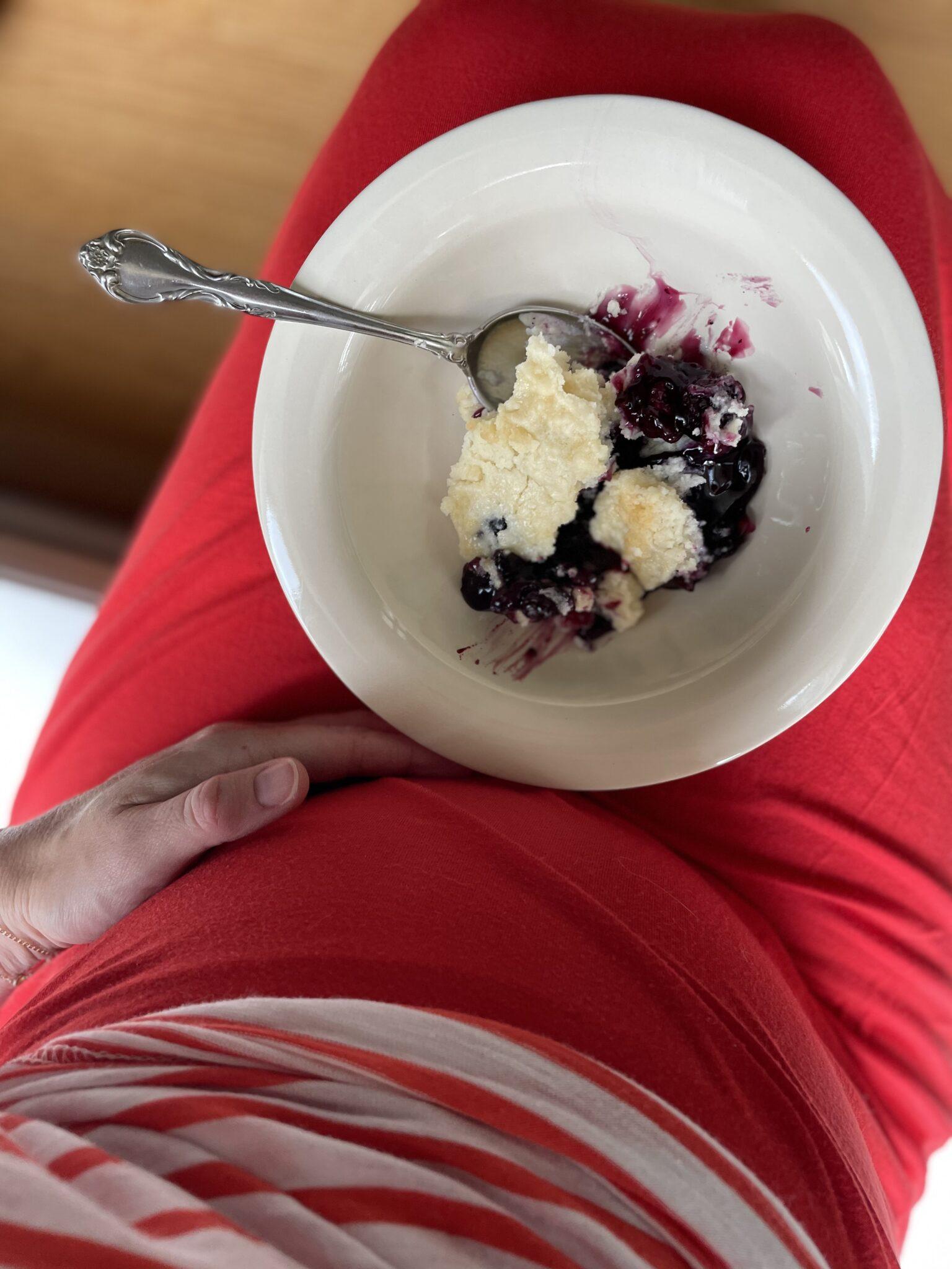 Blackberry Blueberry Cobbler