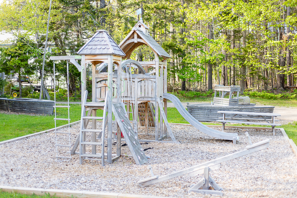 playground at Spruce Point Inn