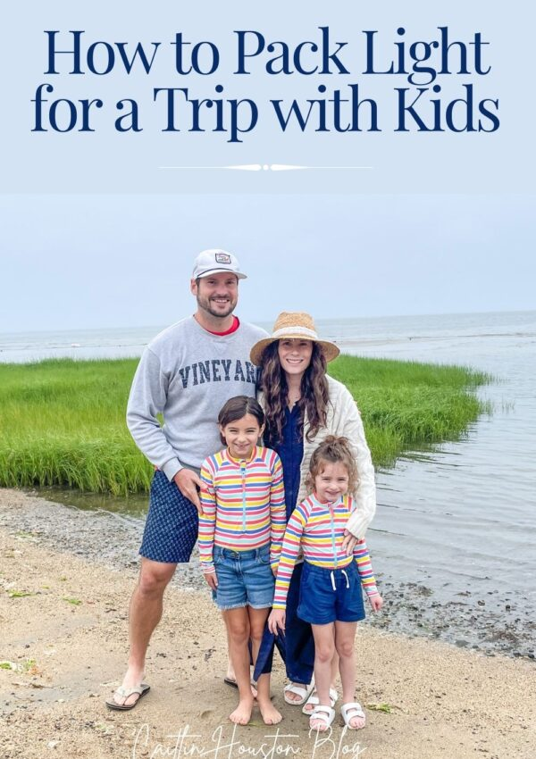 How to Pack Light for a Trip with Kids