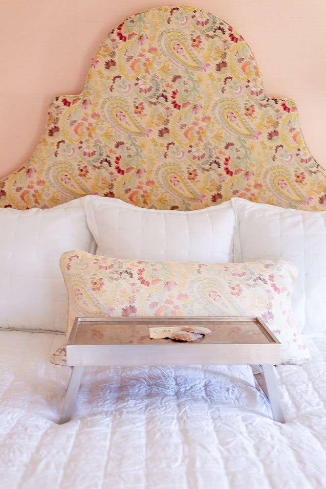 Bed Table with Fresh Cookies Sunnyholm Guest Room 33 Main