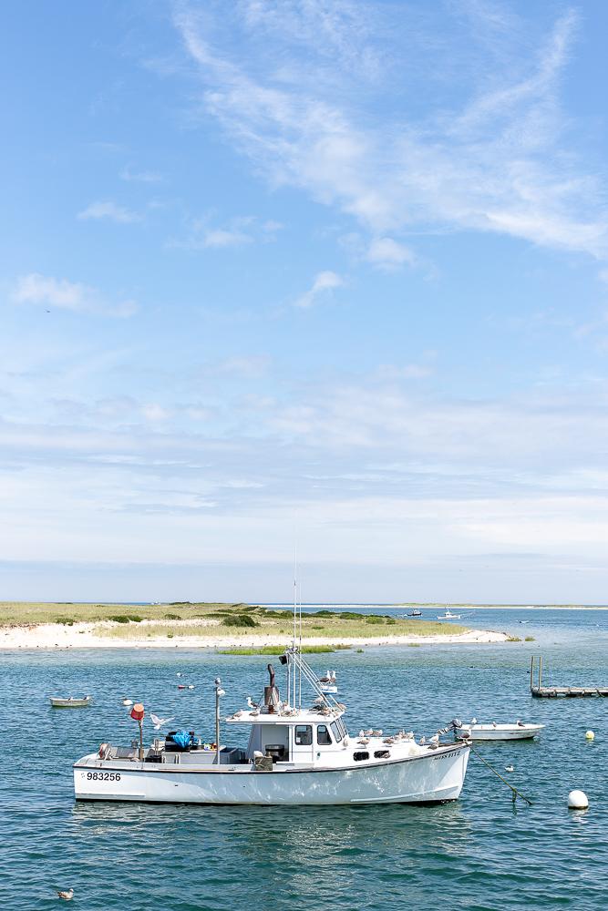 Fishing boats at Chatham Fishing Pier