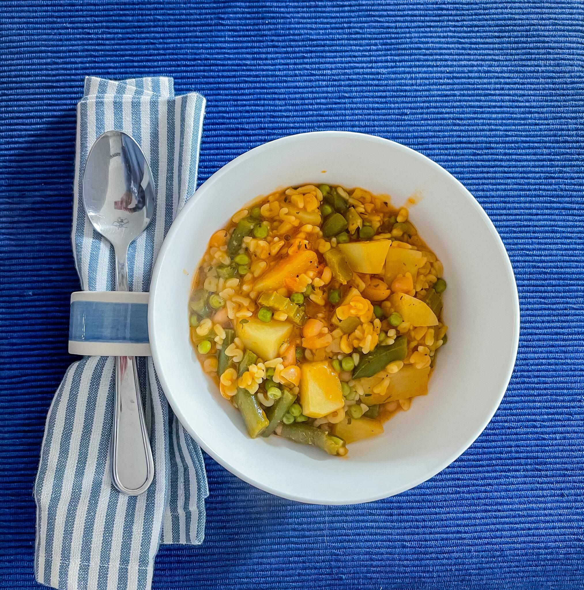 Easiest Homemade Alphabet Vegetable Soup