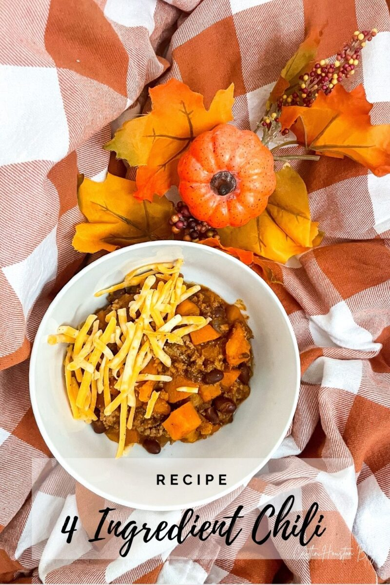 four ingredient fall chili