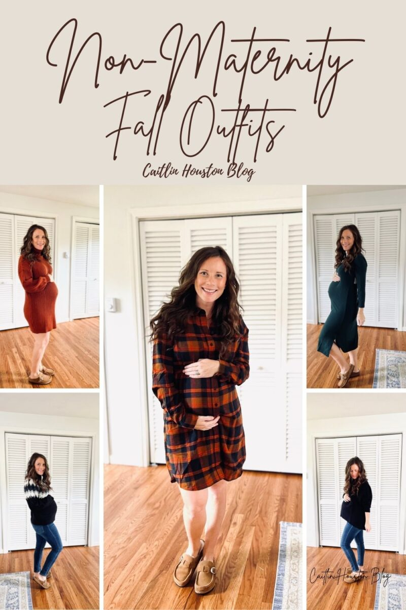 non maternity fall bump friendly outfits